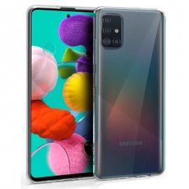 Funda Silicona Samsung Galaxy A51 - A515 Negra