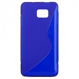 Funda Silicona Samsung Galaxy S6 Edge Plus Azul