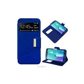 Funda Libro Samsung Galaxy S6 Edge Plus Azul