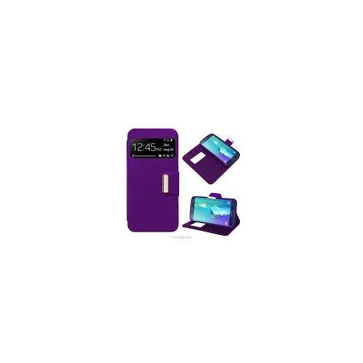 Funda Libro Samsung Galaxy S6 Edge Plus Violeta - Foto 1