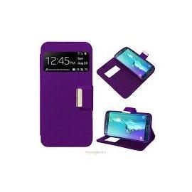 Funda Libro Samsung Galaxy S6 Edge Plus Violeta
