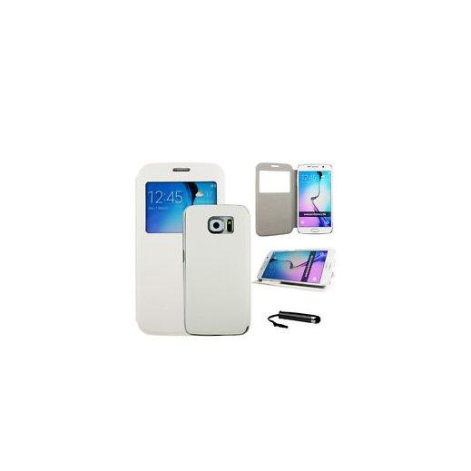 Funda Libro Samsung Galaxy S6 Edge Plus Blanco - Foto 1