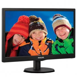 "Monitor Led Philips 18.5"" Negro"
