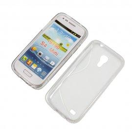 Funda Silicona Samsung Galaxy S4 Mini Transparente
