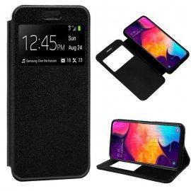 Funda Flip Cover Samsung A20/a30/a50 Negra