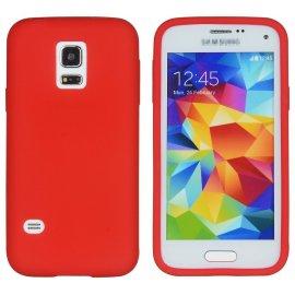 Funda Silicona Samsung Galaxy A5 2017 Roja