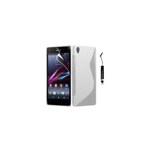 Funda Silicona Sony Xperia Z1 Transparente - Foto 1