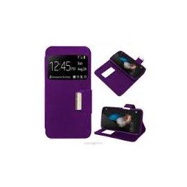 Funda Libro Huawei P8 Lite Violeta