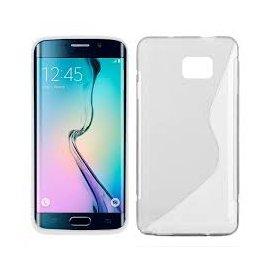 Funda Silicona Samsung Galaxy S6 Edge Transparente