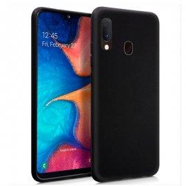 Funda Silicona Samsung A202/a20e Negra