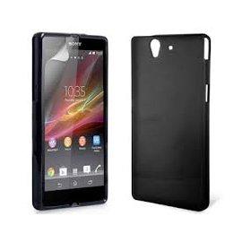 Funda Silicona Sony Xperia Z5 Negra