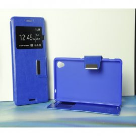 Funda Libro Sony Xperia Z5 Premium Azul