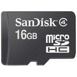 Tajerta Memoria Micro Sd 16gb Sandisk