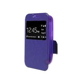 Funda Libro Samsung Galaxy Core Plus Lila