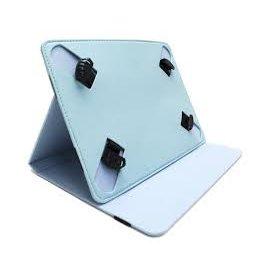 "Funda Tablet Universal Soporte Giratorio 10.1"" Azul Celeste"