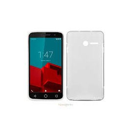 Funda Silicona Transparente Vodafone Smart Prime 6