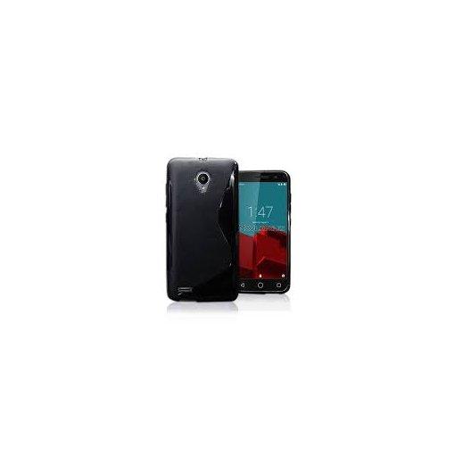 Funda Silicona Vodafone Smart Prime 6 Negra - Foto 1