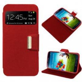 Funda Libro Samsung Galaxy J1 Rojo