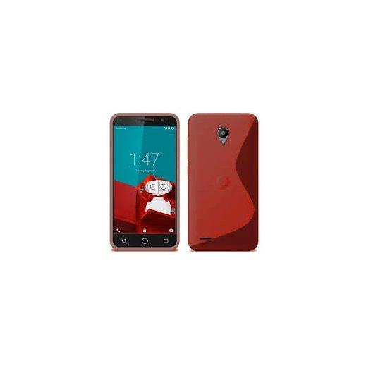 Funda Silicona Smart Prime 6 Vodafone Roja - Foto 1