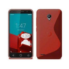 Funda Silicona Smart Prime 6 Vodafone Roja