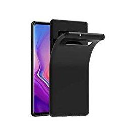 Funda Silicona Samsung S10 Negra