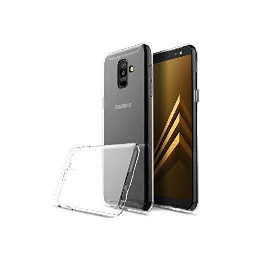 Funda Silicona Samsung A6 Plus Transparente - Foto 1