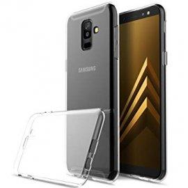 Funda Silicona Samsung A6 Plus Transparente