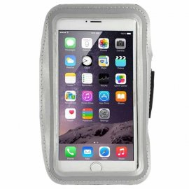 Brazalete Deportivo Compatible con Iphone 6g Plus Gris