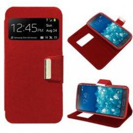 Funda Libro Huawei P8 Lite Roja