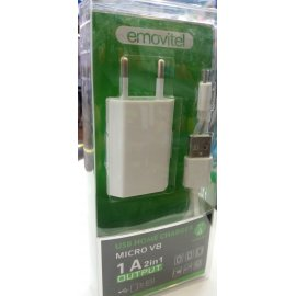 Usb Travel Charger Micro V8 1a