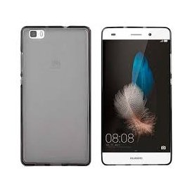 Funda Silicona Huawei P8 Negra