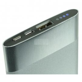 Cargador Bateria Portatil Omega Power Bank 5000mah con Adaptador 2...