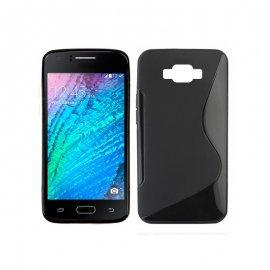 Funda Silicona Samsung Galaxy J5 2016 Negra