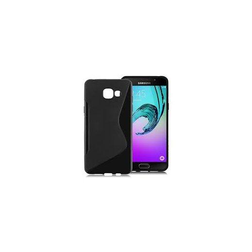 Funda Silicona Samsung Galaxy J3 2016 Negra - Foto 1