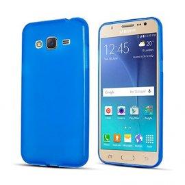 Funda Silicona Samsung Galaxy J3 2017 Azul