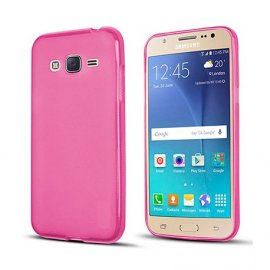 Funda Silicona Samsung Galaxy J3 2017 Rosa