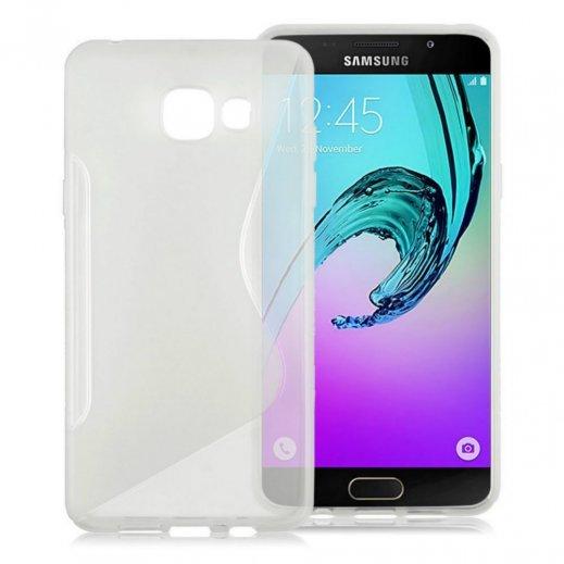 Funda Silicona Samsung Galaxy J3 2016 Transparente - Foto 1