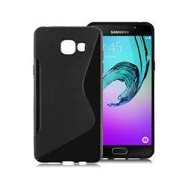 Funda Silicona Samsung Galaxy A3 2016 Negra