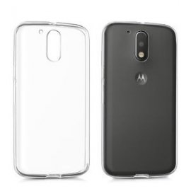 Funda Silicona Motorola Moto G4 2016 Transparente