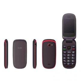 Telefono Senior Qubo Xoel Rojo