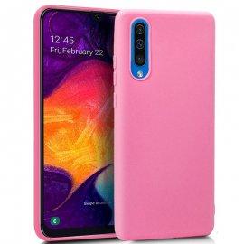Funda Silicona Samsung A50 Rosa