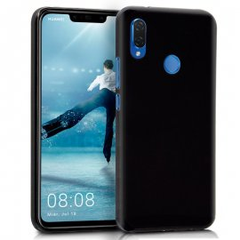 Funda Silicona Huawei P Smart Plus Negra