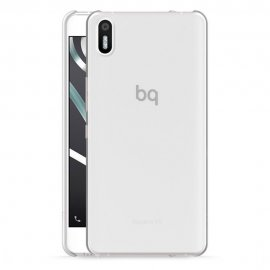 Funda Silicona Bq Aquaris X5 Plus Transparente