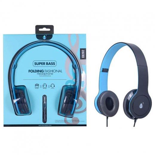 Auricular Eb202 Super Bass Azul - Foto 1