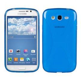Funda Silicona Samsung Galaxy J5 2016 Azul