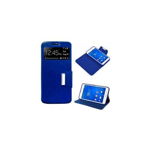 Funda Libro Huawei Enjoy 5s Azul - Foto 1