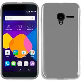 Funda Silicona Alcatel Pop 4 Plus Transparente