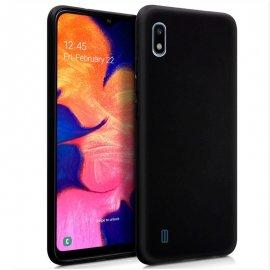 Funda Silicona Samsung A10 Negra