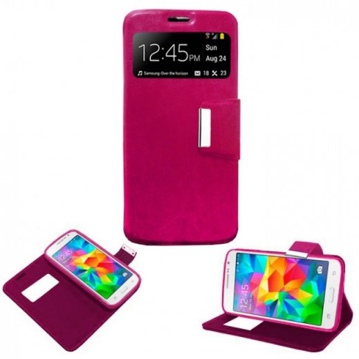 Funda Libro Iphone 5g/s Rosa - Foto 1
