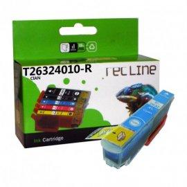 Cartucho Compatible Epson Inyeccion Tinta Cian T26324010r